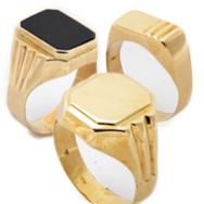 Férfi pecsétgyűrűk